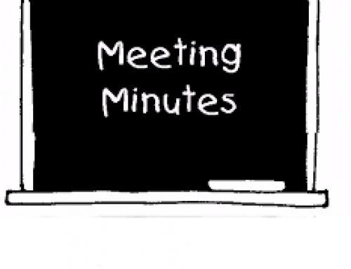 Minutes of Committee Meeting