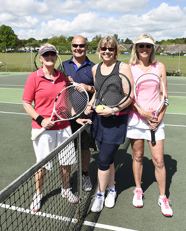 Woodbridge tennis club offers various adult coaching sessions