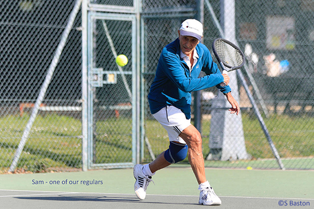 Woodbridge tennis club is open to all ages and abilities