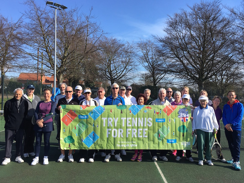 Woodbridge Tennis Club Great British Tennis Weekend