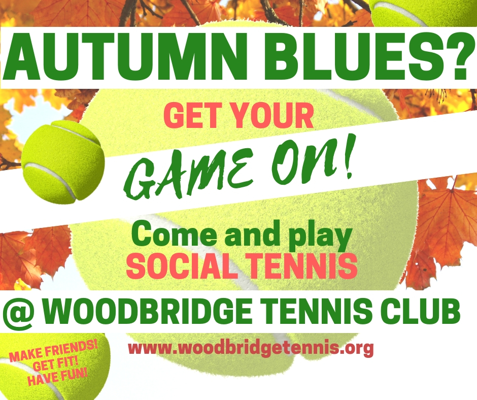 Play social tennis at Woodbridge Tennis Club in Suffolk