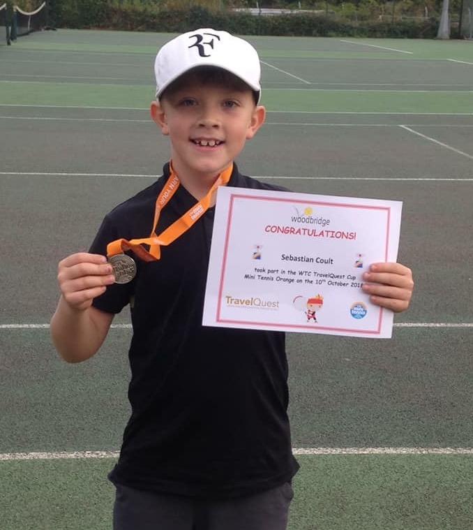 Woodbridge Tennis Club junior player